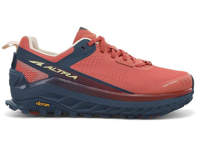 Altra Olympus 4 Hardloopschoenen Dames, blauw/oranje